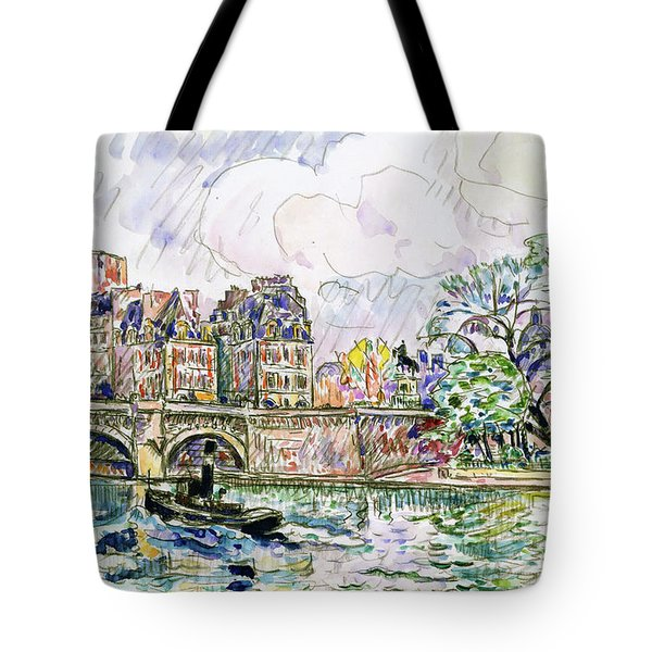 Place Dauphine - Digital Remastered Edition Tote Bag