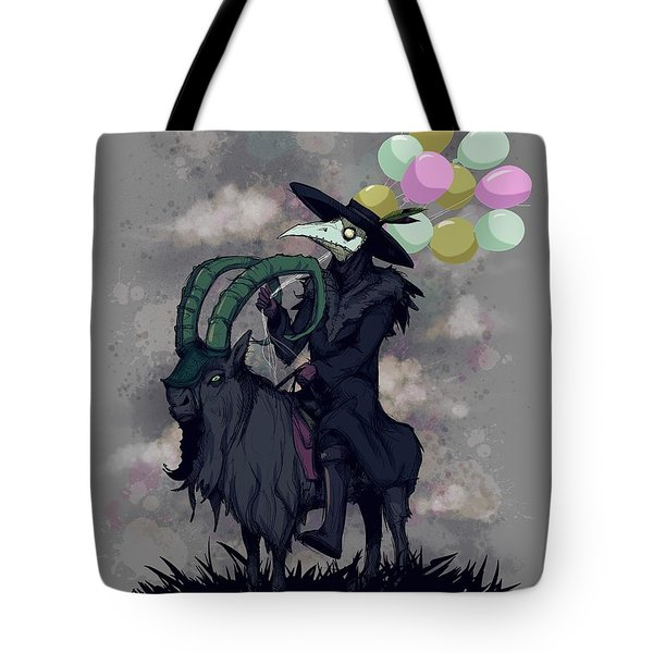 Plague Balloons Tote Bag