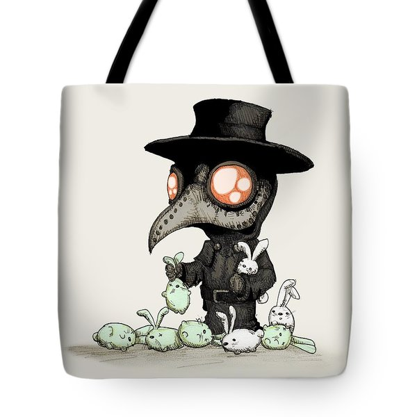 Plague Doctor Experiments  Tote Bag