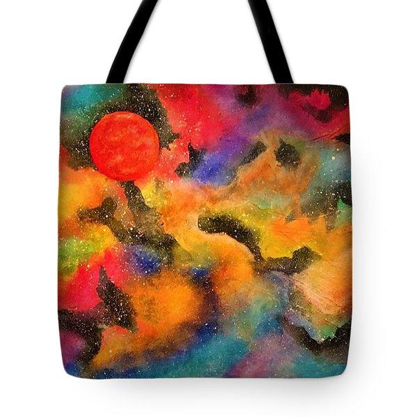 Planet Arcturus Tote Bag