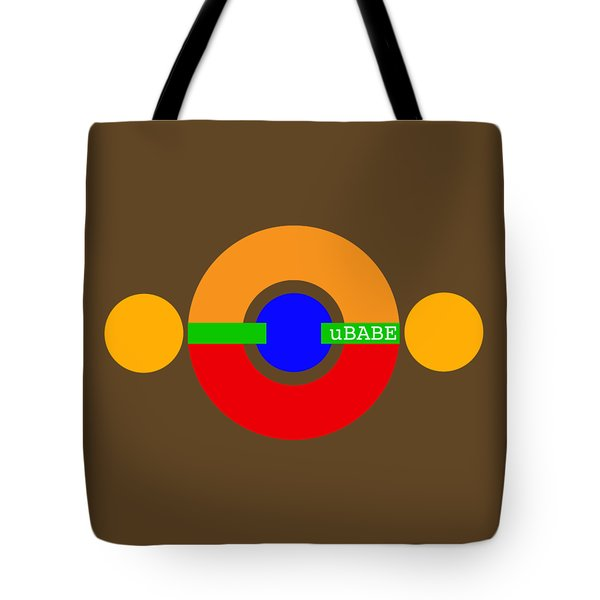 Planet Babe Tote Bag