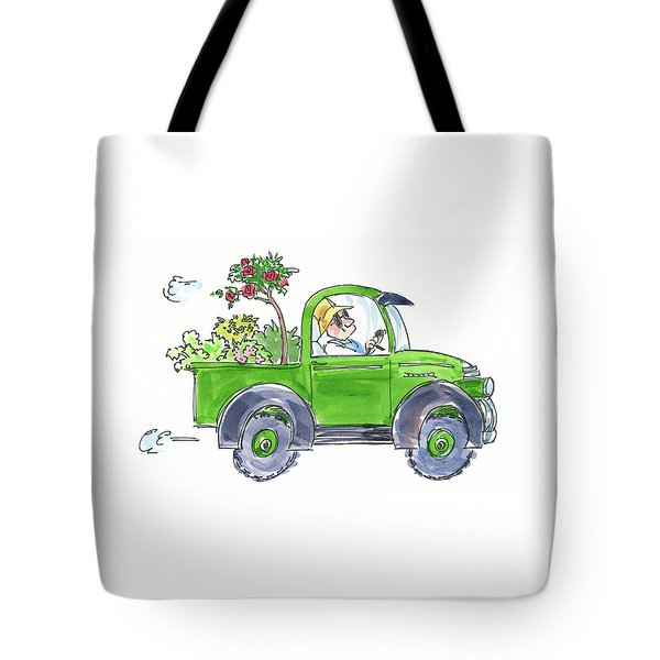 Plant Delivery Tote Bag