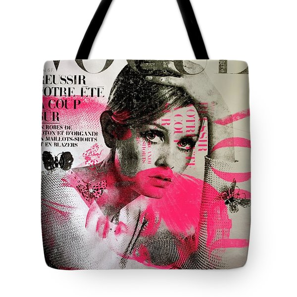 Platinum Twiggy  Tote Bag