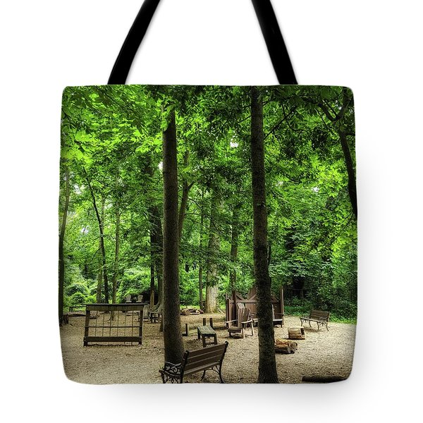 Play In The Shade Tote Bag