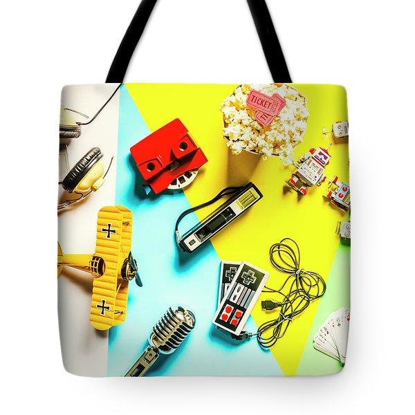 Play On Pop Art Tote Bag