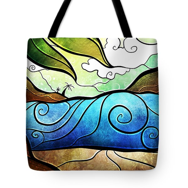 Playa Paraiso Tote Bag