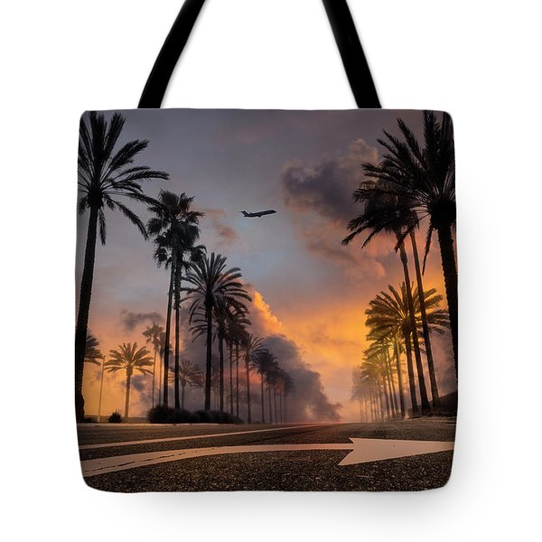 Tote Bag featuring the photograph Playa Vista by John Rodrigues