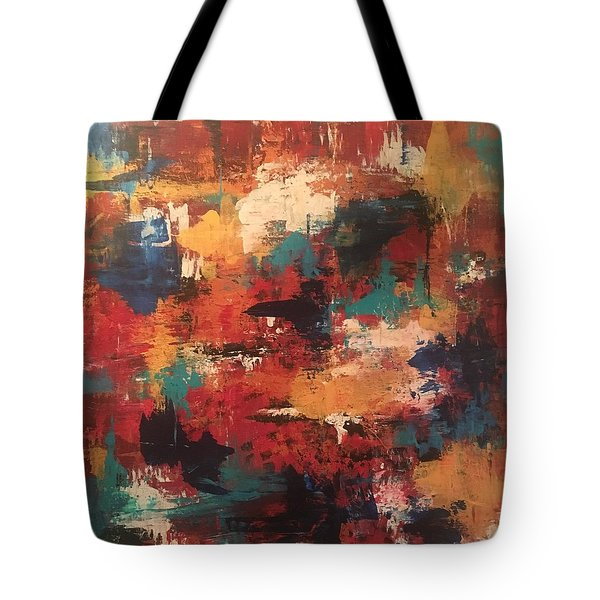Playing With Color Tote Bag