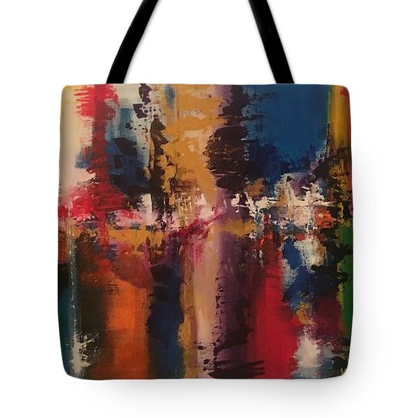 Playing With Color II Tote Bag