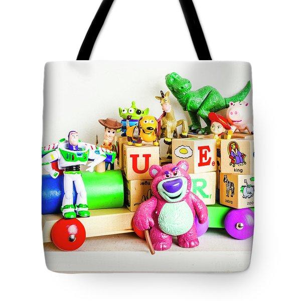 Playtime Story Tote Bag
