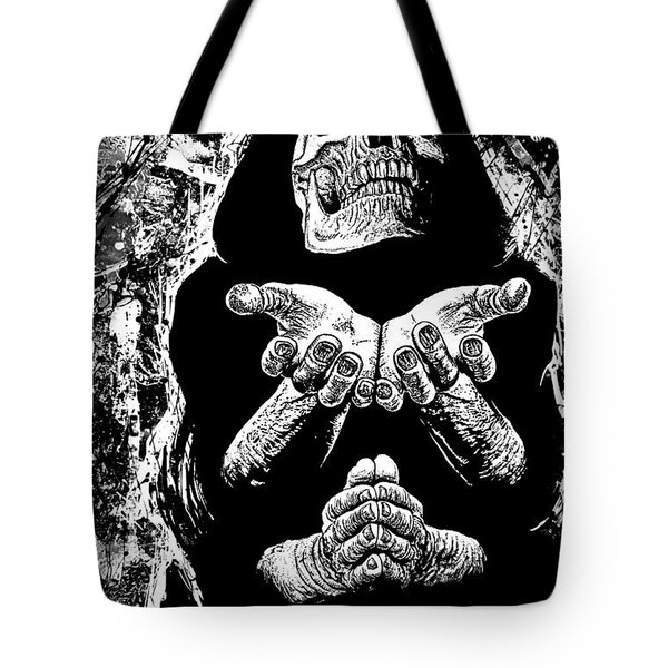 Pleading With The End Tote Bag