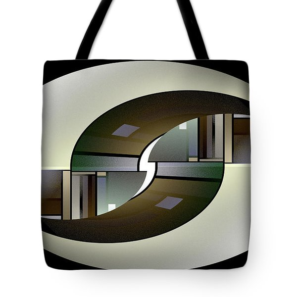 Tote Bag featuring the digital art Ezra by Missy Gainer