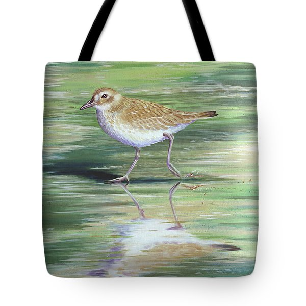 Plover Reflections Tote Bag