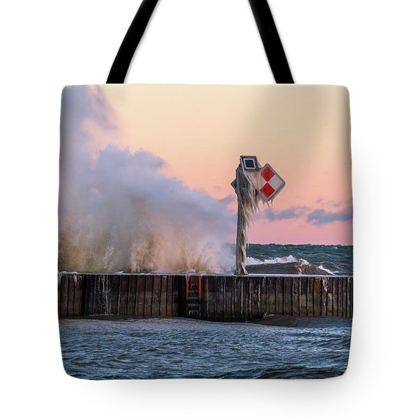 Point Breeze Tote Bag