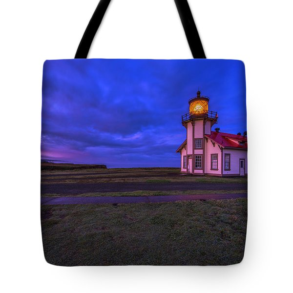 Point Cabrillo Light Station - 3 Tote Bag