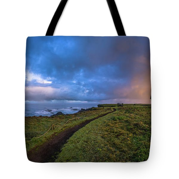 Point Cabrillo Light Station Panorama Tote Bag