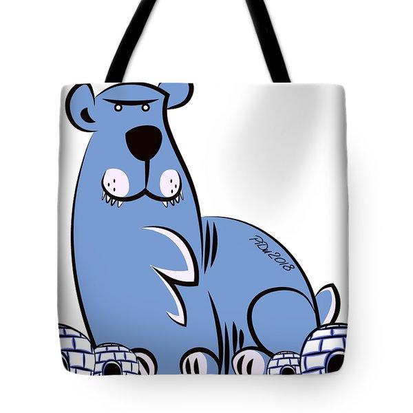Polar King Tote Bag