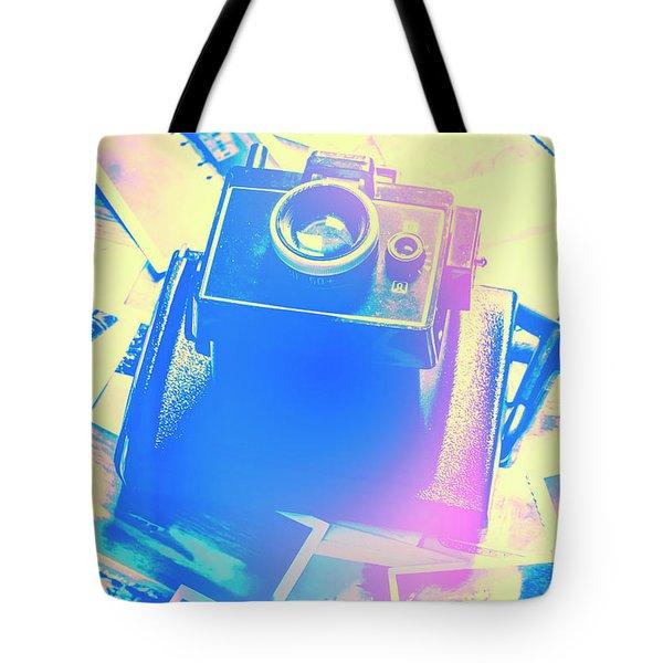 Polarised Pop Art Tote Bag
