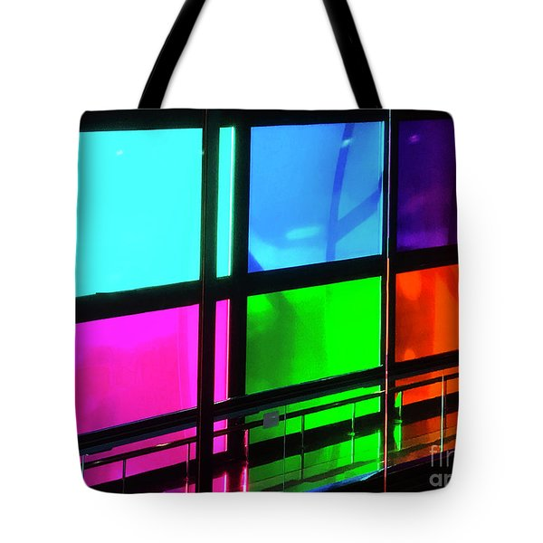 Polychrome Passageway Tote Bag