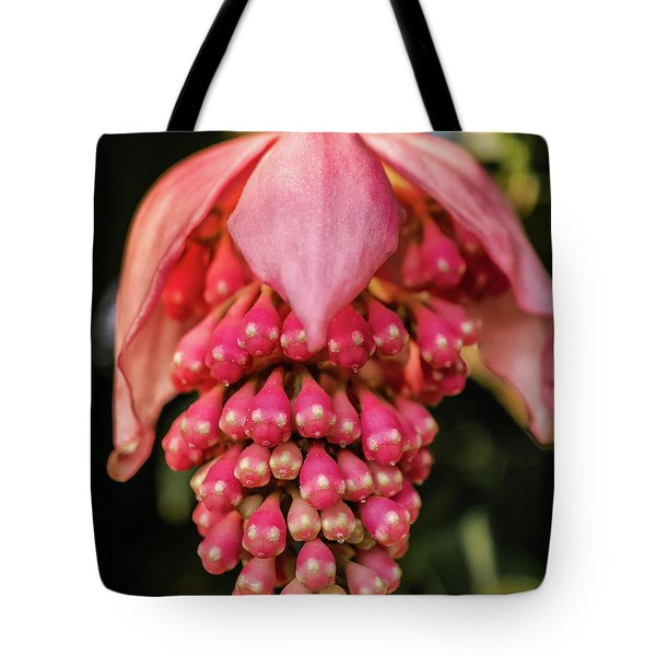 Pomegranate Flower Tote Bag
