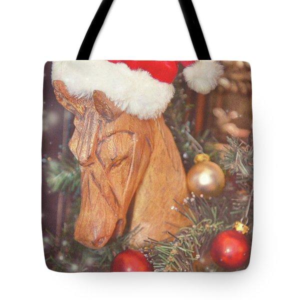 Pony Sparkle Tote Bag