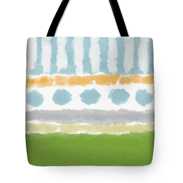 Poolside 3- Art By Linda Woods Tote Bag