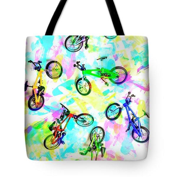 Pop Art Circuit Tote Bag