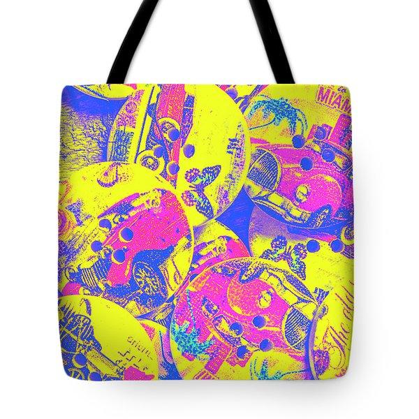Pop Art Garage  Tote Bag