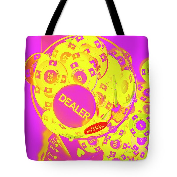 Pop Art Poker Tote Bag