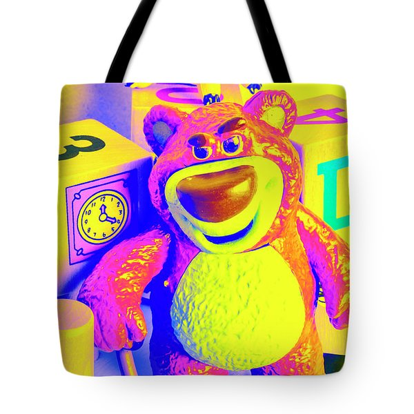 Pop Art Preschool  Tote Bag
