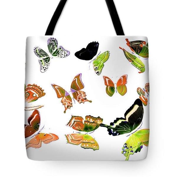 Pop Art Tropics Tote Bag