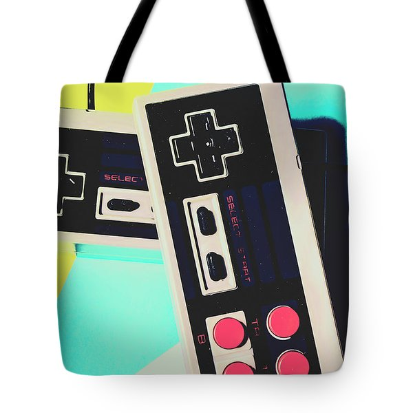 Pop Artcade Tote Bag