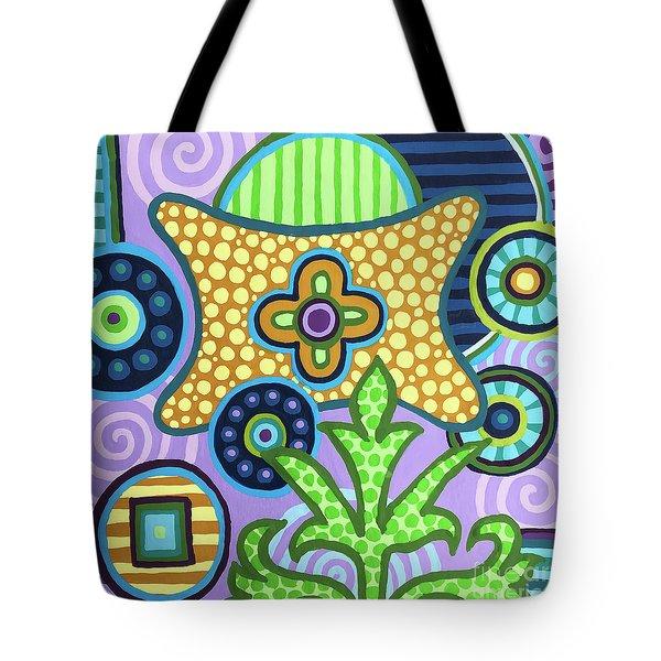 Pop Botanical 2 Tote Bag