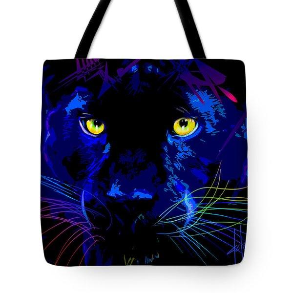pOpCat Black Panther Tote Bag