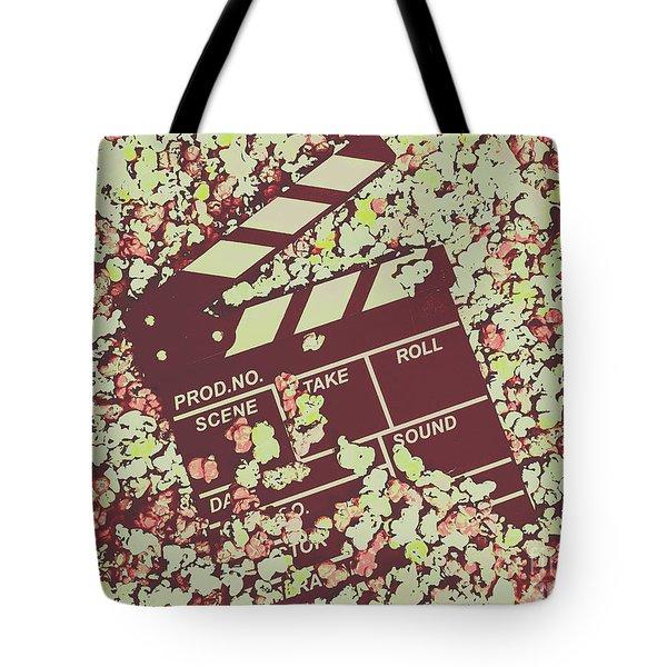 Popcorn Premiere  Tote Bag