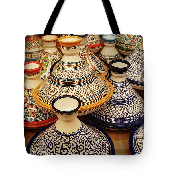 Porcelain Tagine Cookers  Tote Bag