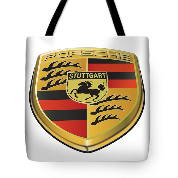 Porsche Logo No Background Tote Bag