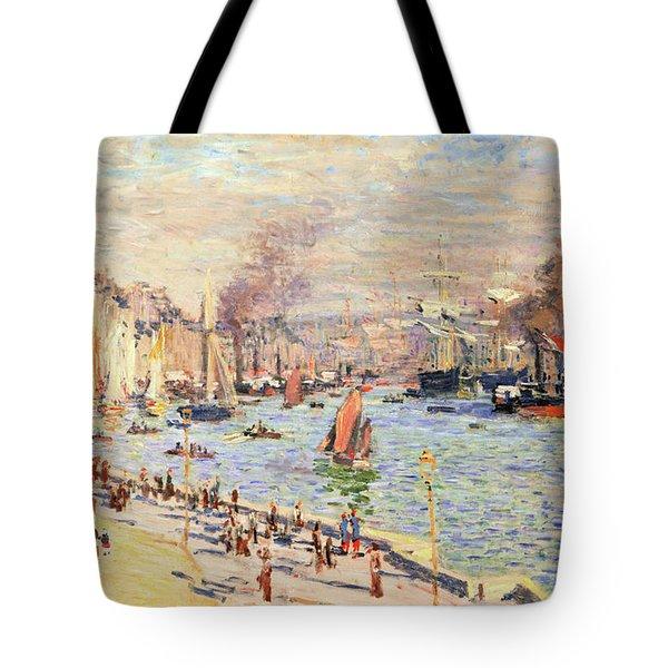 Port Of Le Havre - Digital Remastered Edition Tote Bag