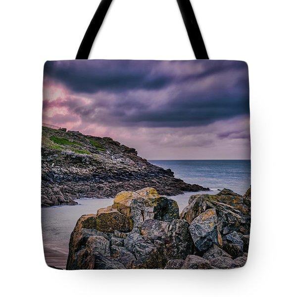 Porthgwidden Dramatic Sky Tote Bag