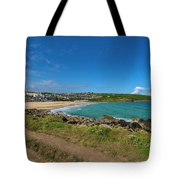 Porthmeor Beach - St Ives Cornwall Tote Bag