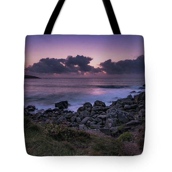 Porthmeor Sunset - Cornwall Tote Bag