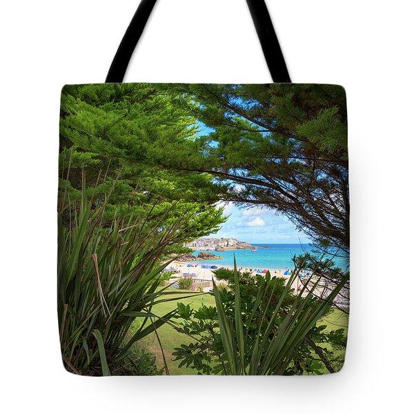 Porthminster Behind The Trees - St Ives Cornwall Tote Bag