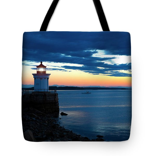 Portland Breakwater Light Tote Bag