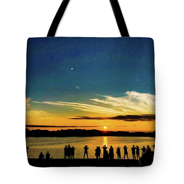 Portland Pauls Sunset Tote Bag