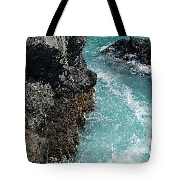 Porto Covo Cliff Views Tote Bag