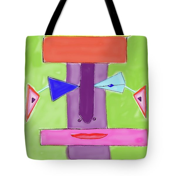 Portrait Of Mom Tote Bag