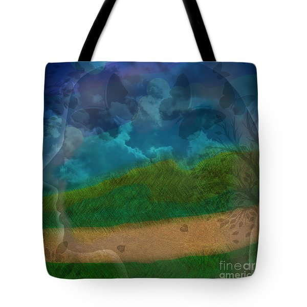 Portrait Of Time Tote Bag