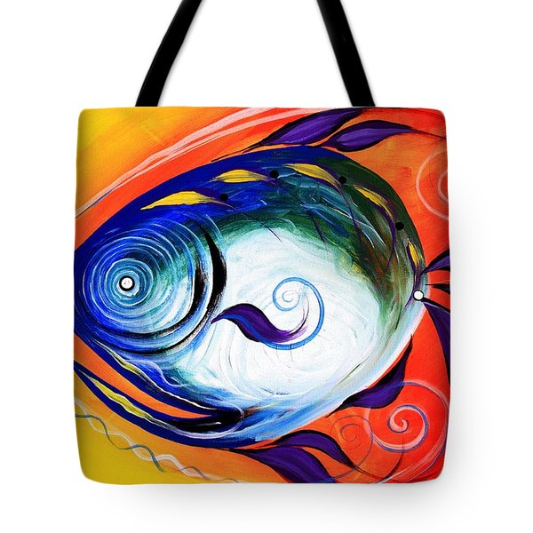 Positive Fish Tote Bag