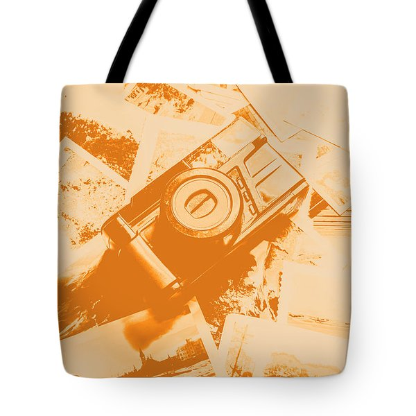 Posterised Photography Tote Bag