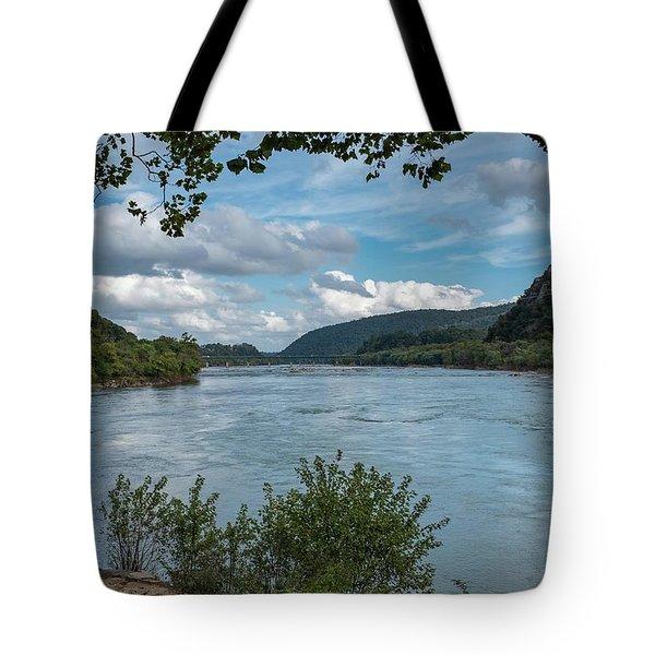 Potomac River At Harper's Ferry Tote Bag